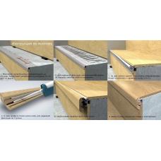 Профиль лестничный вспомогательный Quick-step (12мм NEINCPBASE7)