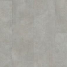 QUICK-STEP AMBIENT GLUE+ AMGP40050 БЕТОН ТЕПЛЫЙ СЕРЫЙ  (ВИНИЛОВЫЙ ВЛАГОСТОЙКИЙ ЛАМИНАТ, КЛЕЕВАЯ ПЛИТКА ПВХ)